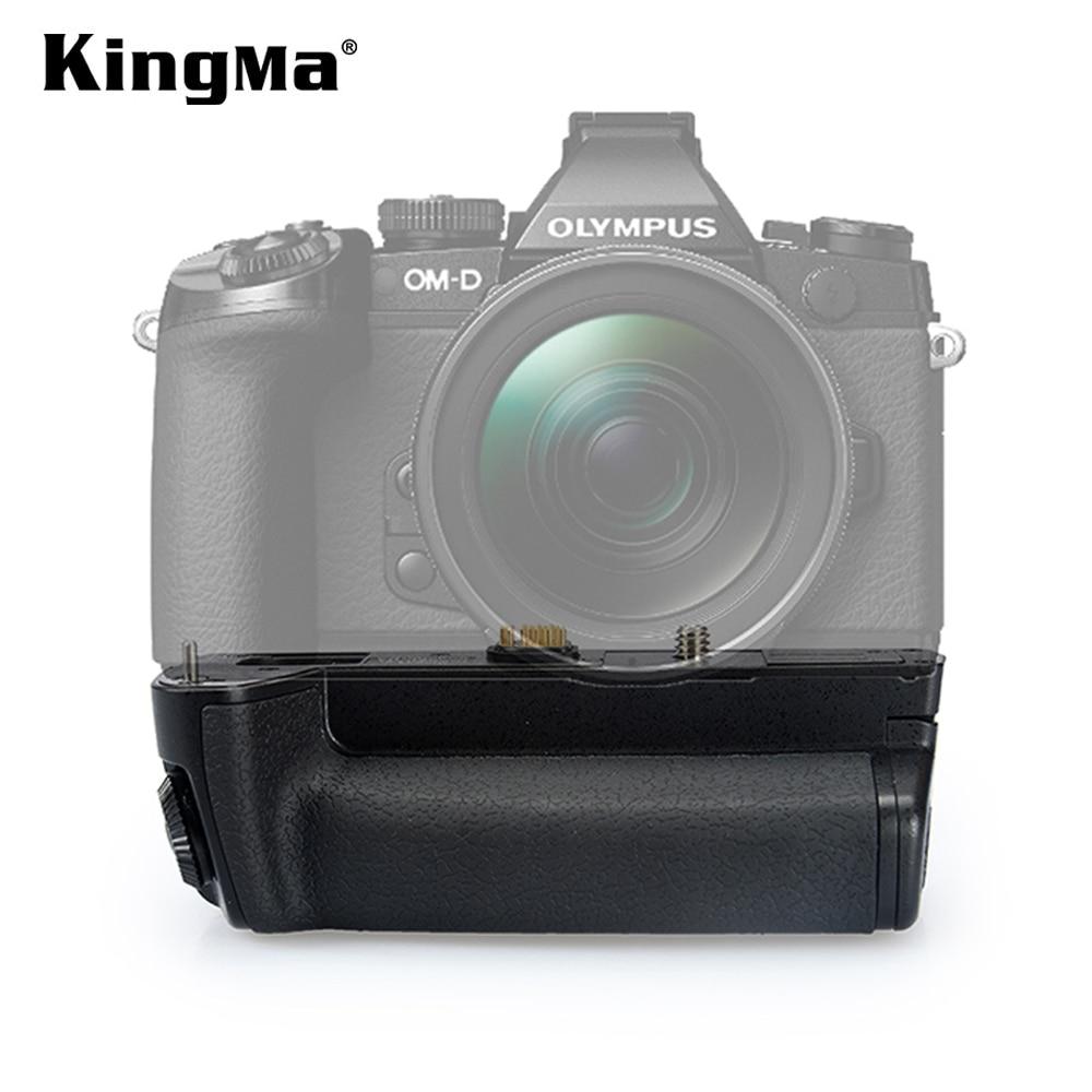 KingMa استبدال HLD-7 البطارية العمودي قبضة البطارية حزمة قبضة لأوليمبوس DSLR E-M1 بطارية الكاميرا حامل كاميرا الملحقات