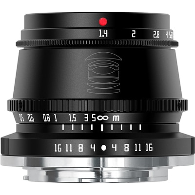 TTArtisan 35mmf1.4 فتحة كبيرة ثابتة التركيز مايكرو واحدة عدسة هو مناسبة ل E / FX/ m43/ EF-M واجهة