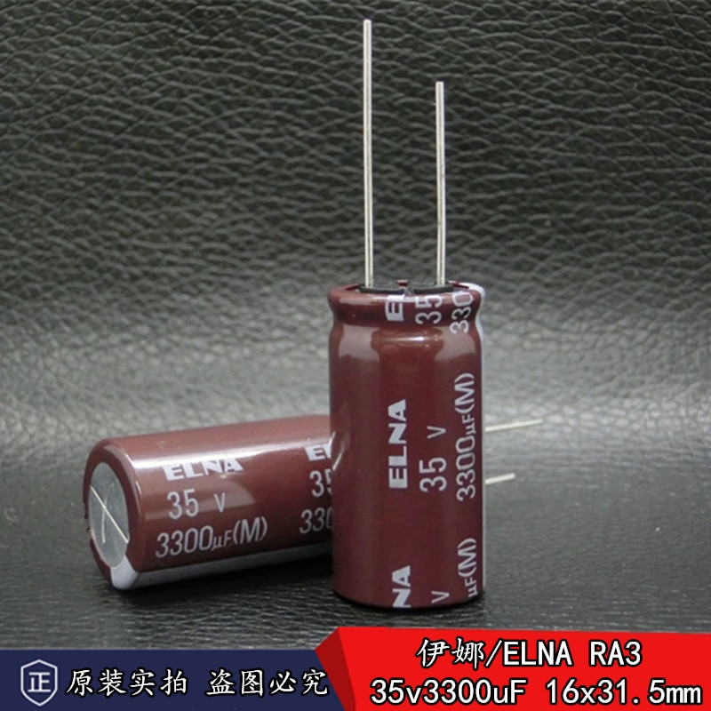 30pcs/lot Original ELNA RA3 series aluminum electrolytic capacitors for audio frequency free shipping 30pcs lot original nichicon audio kt series aluminum electrolytic capacitors for audiophile audio equipment free shipping