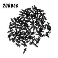 200pcs rivets replacement rivet clips accessories auto black 90653 hc4 900 fasterner