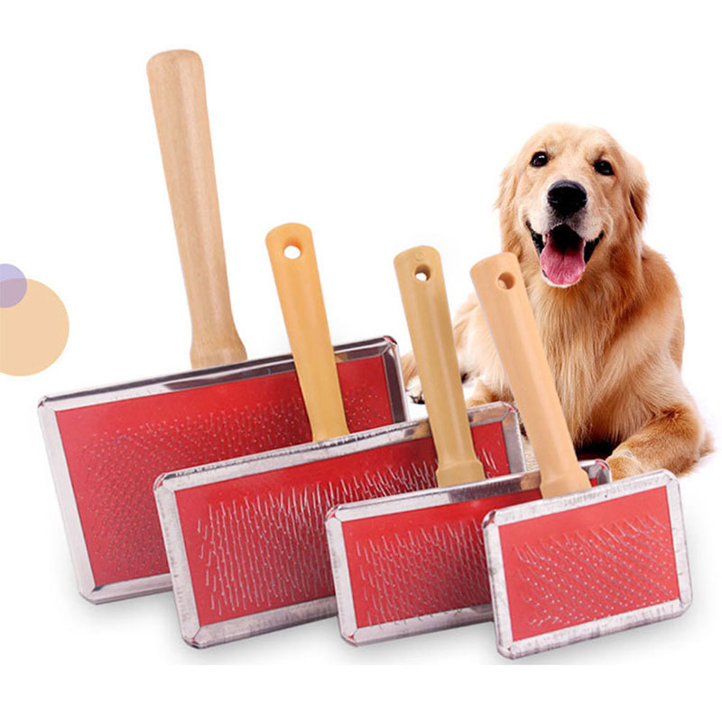 4Sizes Pet Dog Needle Comb Puppy Hair Gilling Beauty Bath Massage Grooming Comb Brush