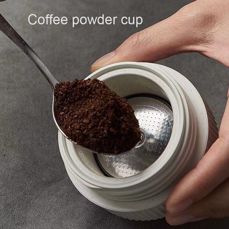 مسحوق القهوة كأس كبسولة قاعدة