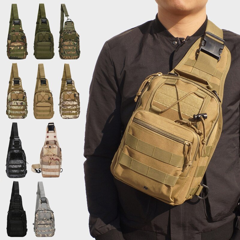 Mochila de camuflaje para senderismo, senderismo, deportes, bandoleras para escalar, mochila táctica para Camping, caza, bolsa militar al aire libre
