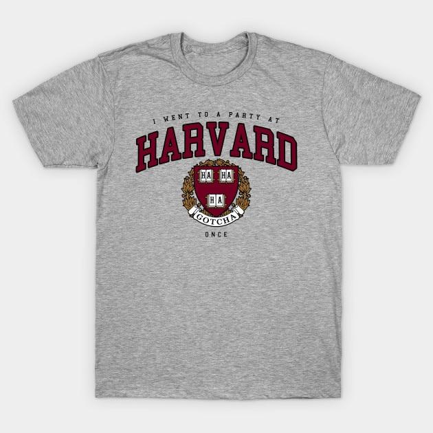 Мужская футболка Гарвардская пародия Футболка женская футболка