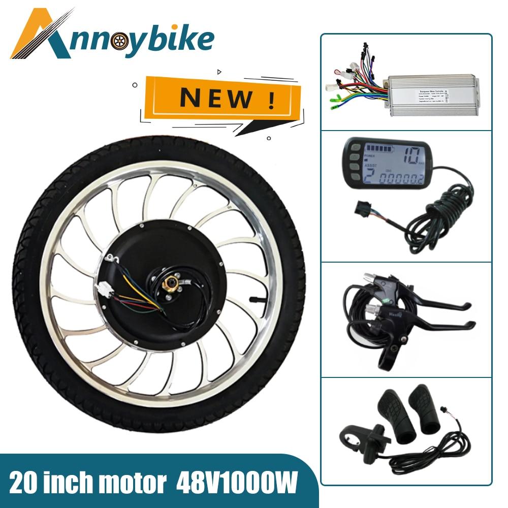 Motor de buje BLDC de 20 pulgadas para Bicicleta eléctrica, 36v48v1000w, conducción...