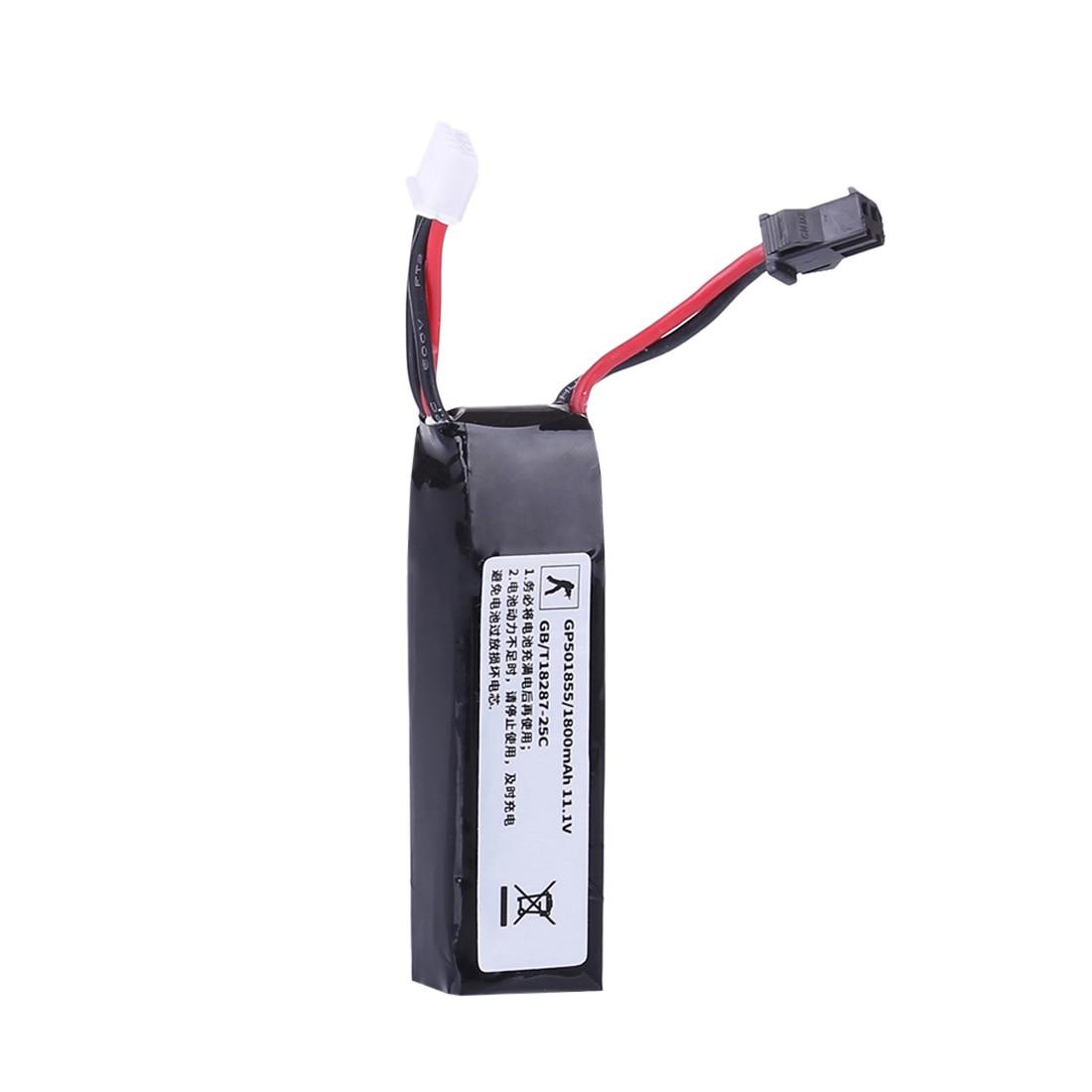 11,1 V 1800mah 25c Mini batería portátil de polímero de alta tasa de descarga de litio para JM Gen.8 / JM Gen.9 / JM Scar /XWE G36 Gel de agua