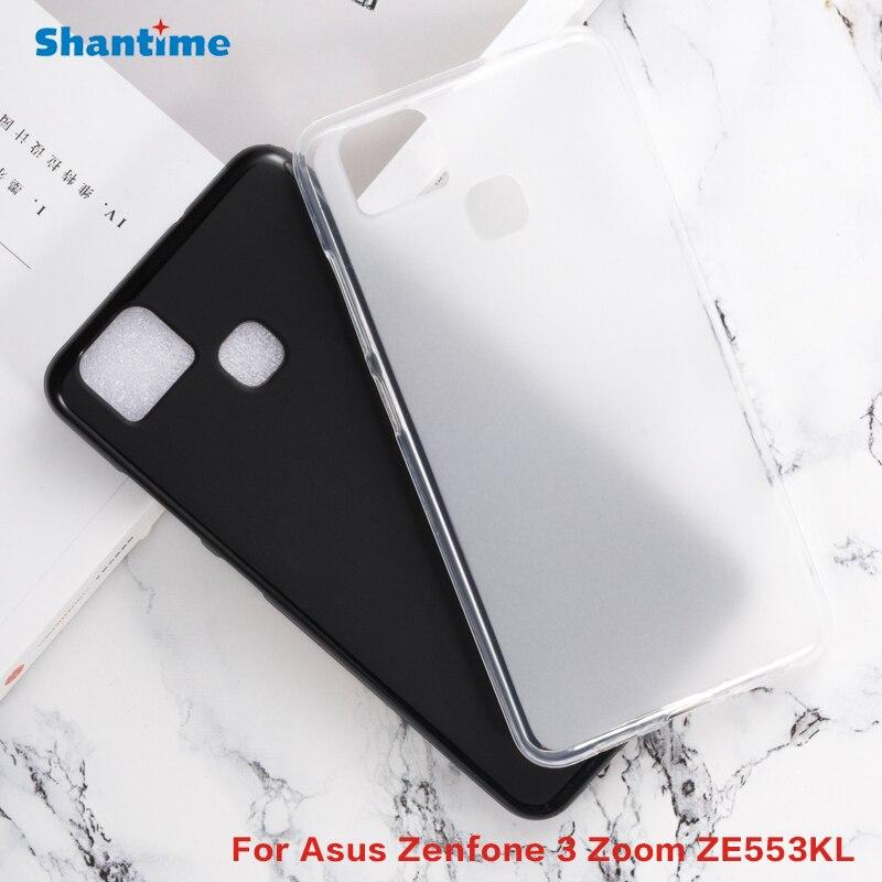 Para Asus Zenfone 3 Zoom ZE553KL Gel Pudding silicona teléfono Carcasa protectora trasera para Asus Zenfone 3 Zoom ZE553KL funda TPU suave
