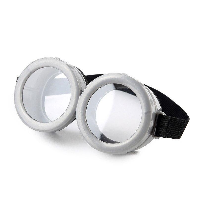 Fantasia decorativa para cosplay, óculos de vidro circular 3d para festa de aniversário