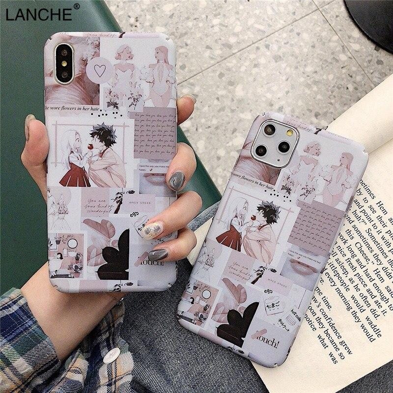 Funda de teléfono LANCHE para Xiaomi mi 8 9 se 8 lite CC9 6x Red mi Note 7 8 Pro K20 carcasa dura ultrafina