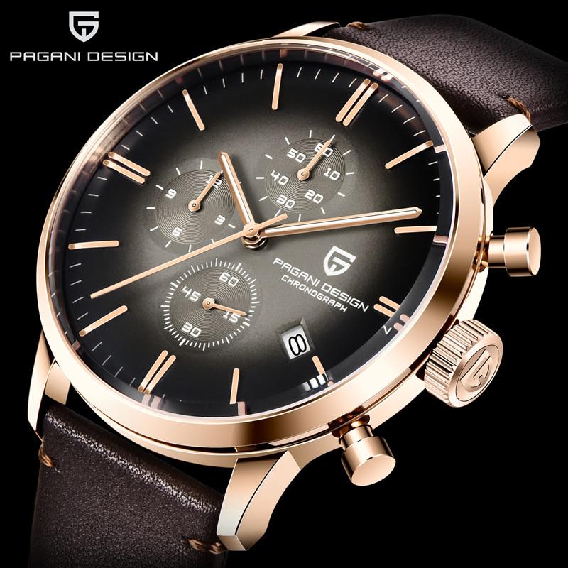 Pagani Set 2021 New Stainless Steel Men's Watch Luxury Business Men Quartz Watch Waterproof Fashion Clock Men's Mechanical Table