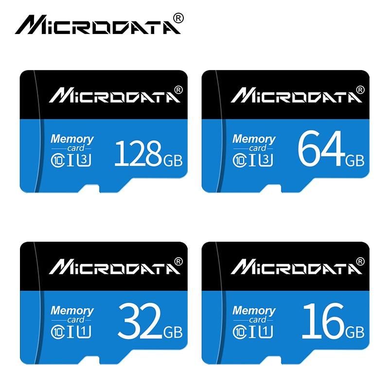 MicroData Blue micro sd card 16GB 32GB microSDHC microsd Memory Card 64gb 128gb C10 microSDXC mini tf card for Smartphone/PC