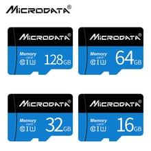 MicroData Blue micro sd card 16GB 32GB microSDHC microsd Memory Card 64gb 128gb C10 microSDXC mini t
