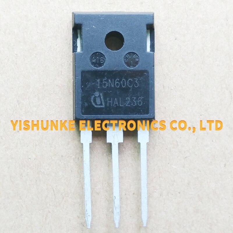 10 Uds 15N60C3 SPW15N60C3-247 TRANSISTOR MOSFET 15A 600V