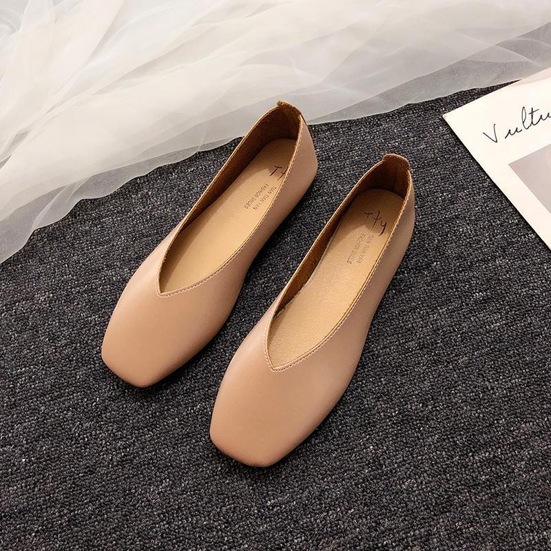 الجملة العديد من القطع أحذية الأطفال الفم كل على الانترنت المشاهير شقة عارضة رقيقة أحذية أحذية Moccosins lykj-yx