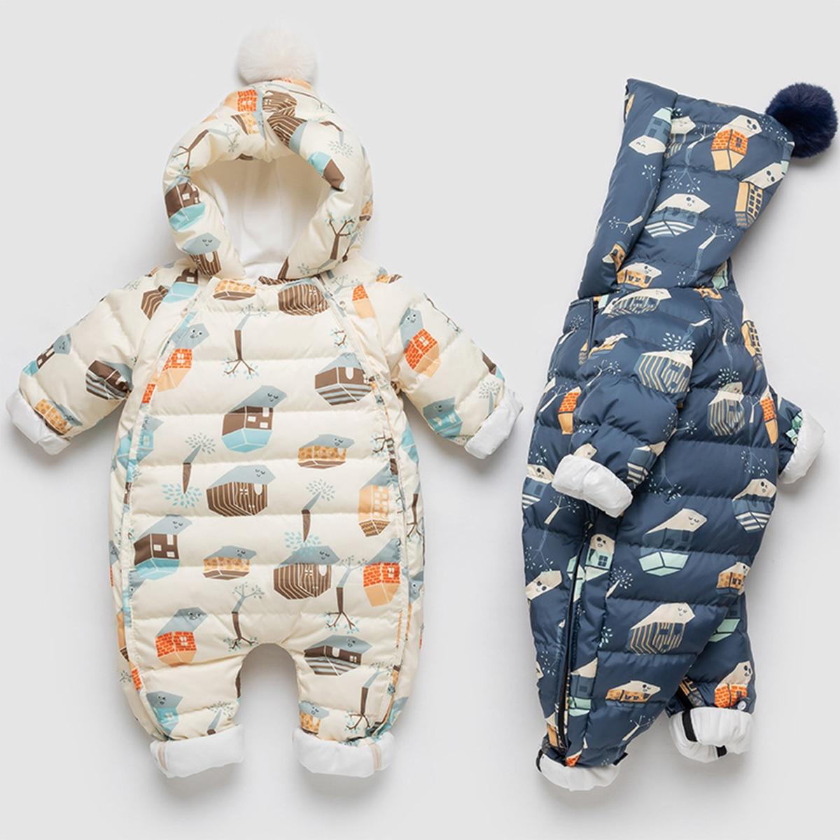 2021-velvet-baby-winter-snowsuit-hooded-catoon-printing-newborn-rompers-girls-down-overalls-infant-boys-jumpsuit