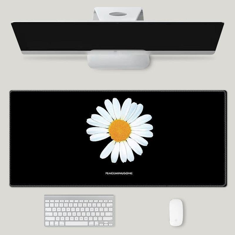 Коврик для мыши с рисунком HD, офисный Настольный коврик для мыши, аниме клавиатура, компьютерный большой размер XXL 900x400 мм, игровые коврики дл...