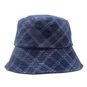 2021 four seasons Cotton plaid Bucket Hat Fisherman Hat outdoor travel hat Sun Cap for Men and Women 446