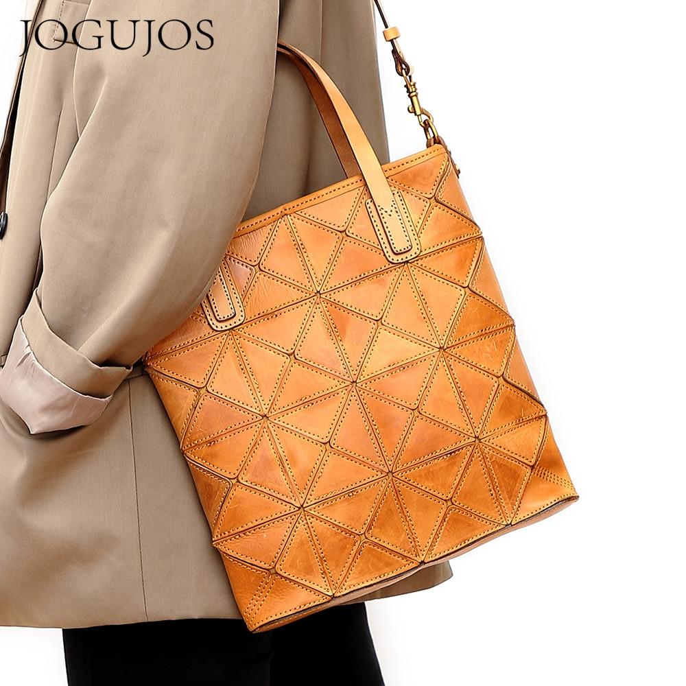JOGUJOS New 2021 Messenger Bag Women's Geometric Sling Bags Famous Brand Female Large Capacity Totes Sac Femme Bolsas Feminina