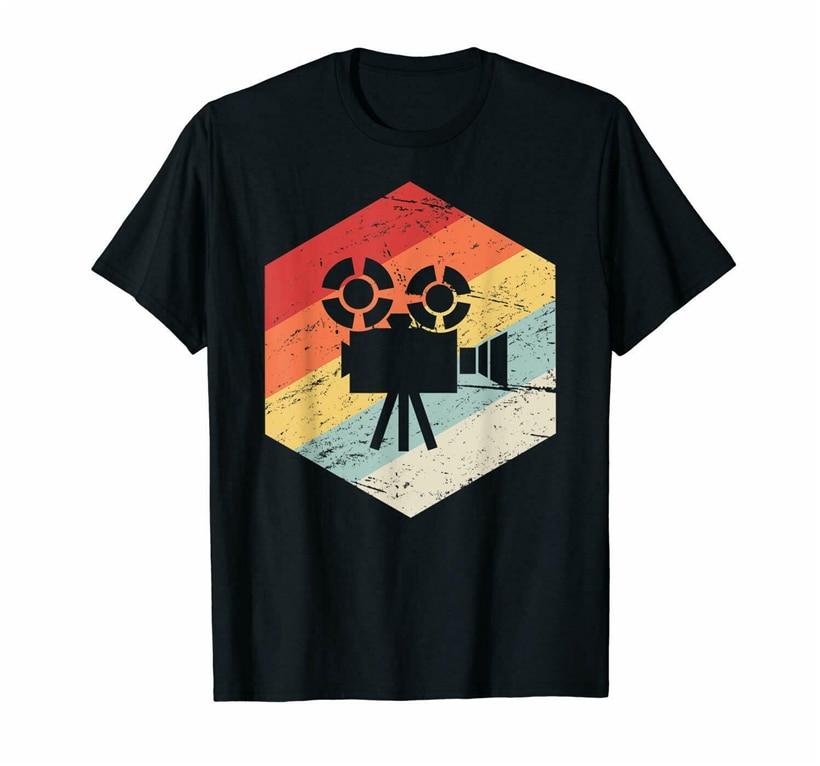 Camiseta Unisex Retro de la Cámara de la vendimia tamaño M-3Xl presente camiseta Casual
