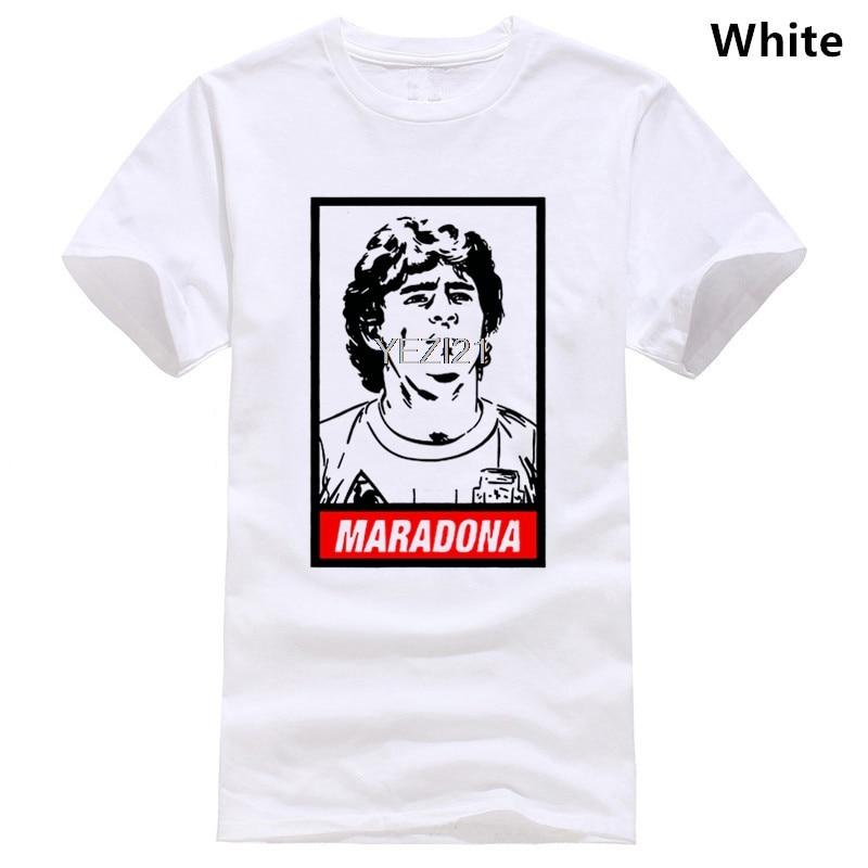 Camiseta blanca de Maradona, parodia