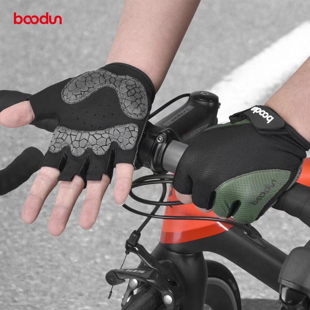 Guantes antideslizantes de silicona para ciclismo, para hombre y mujer, de medio...