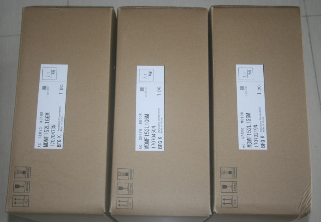 Novo & original panasonic a6 série 1.5kw ac servo motor com unidade mdmf152l1g6m mddln55se servo kit