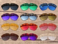 vonxyz multiple choices polarized replacement lenses for oakley moonlighter oo9320 sunglasses