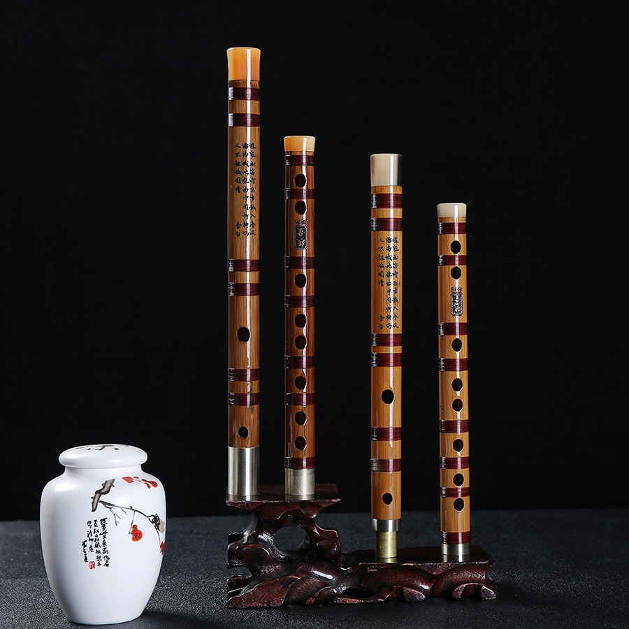 JLM Refined Bitter Bamboo Flute Chinese Musical Instrument Dizi Key of G F for Beginer E D C Key Professional Playing Student недорого