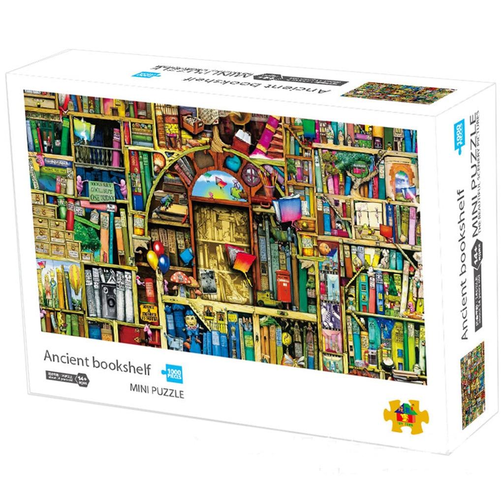 1000 peças jigsaws imagem montagem jogos brinquedos educativos quebra-cabeça brinquedos educativos para crianças quebra-cabeça adulto venda quente