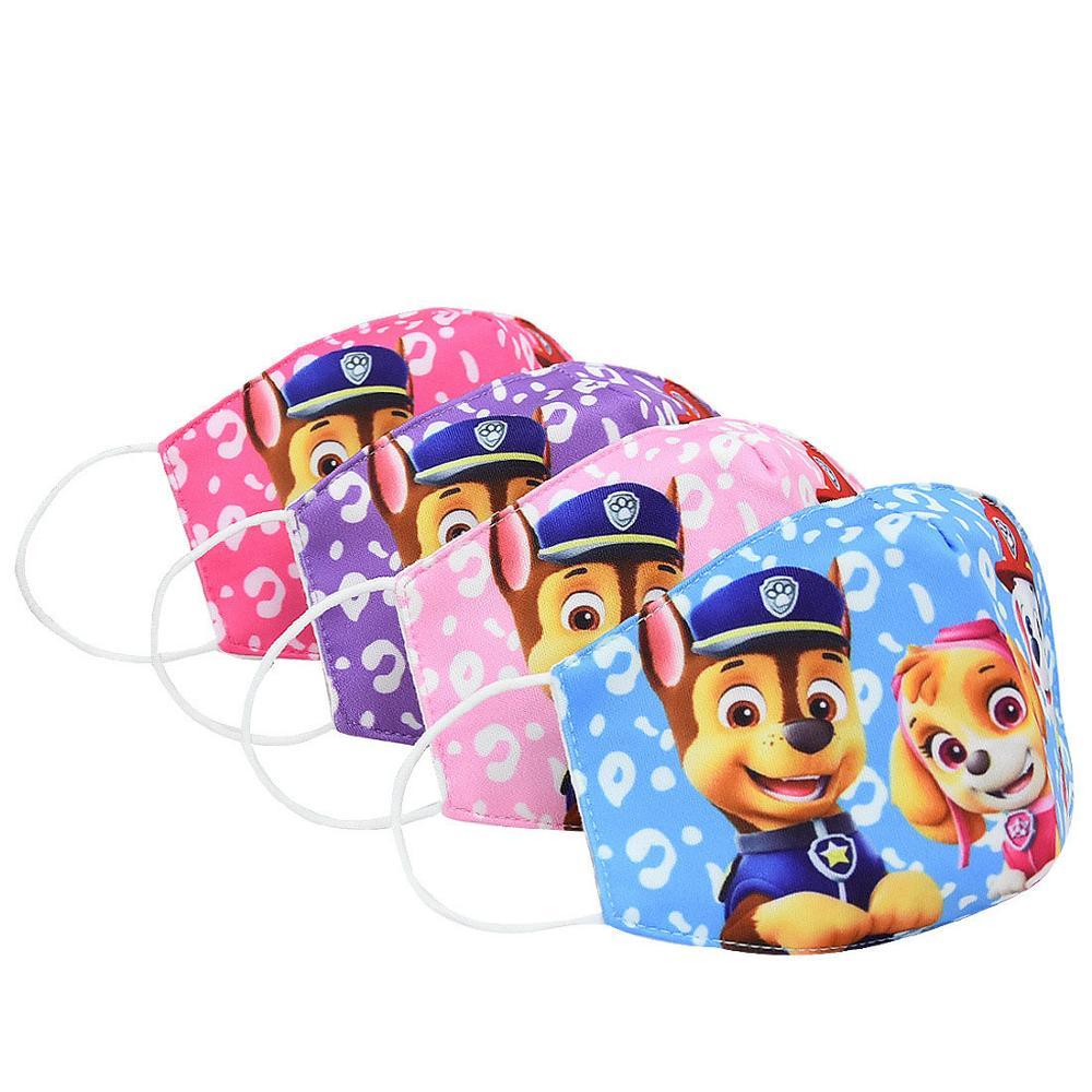 Juguetes para niños y niñas de la patrulla canina, Maks, Chase, Skye, Marshall, Everest, algodón antipolvo lavable, 3-10y 1 Uds