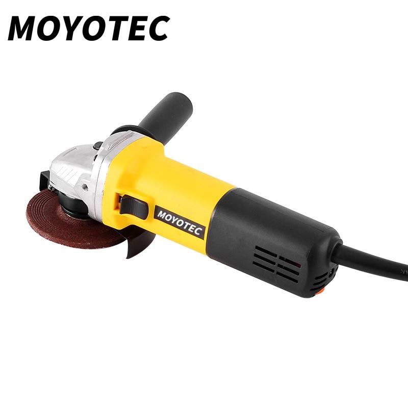 MOYOTEC-جلاخة زاوية كهربائية ، 1050 واط ، 125 مللي متر ، أداة كهربائية ، طحن ، قطع ، طحن المعادن