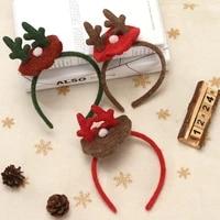 cross border hot selling new hair band japan and south korea hat cute female photo deer antler hat buckle mickey ears headband