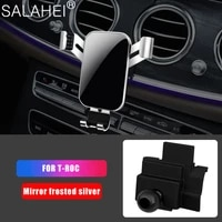 car mobile phone holder for volkswagen vw t roc air vent mount interior dashboard gps 360 degree rotation navigation smartphone
