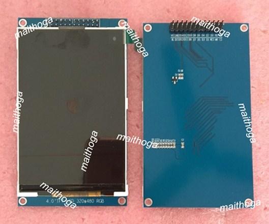 Pantalla a Color IPS 4,0 24P pulgadas TFT LCD con placa adaptadora ILI9486 Drive IC 16Bit paralelo interfaz 320 (RGB) * 480