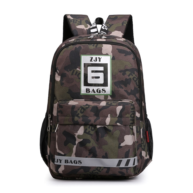 Camouflage School Bags waterproof Children school backpack Boys Primary School backpack Book Bag  Kids satchel mochila escolar недорого