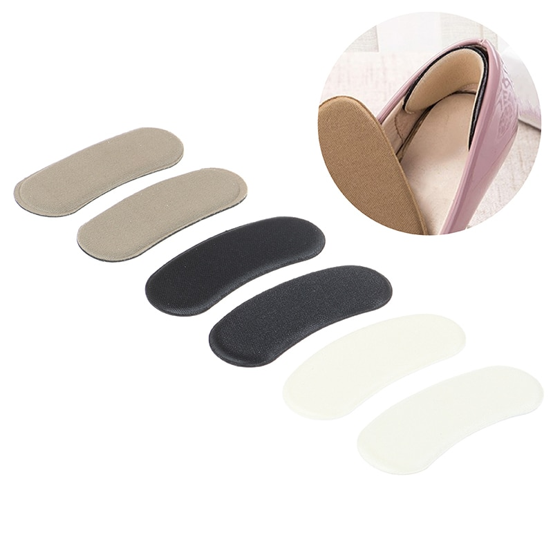 10pcs=5Pairs Women Anti Slip Cushion Pads Invisible Shoe Insoles Insert Heels Protector