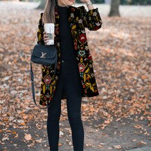2021 Autumn Winter Women Overcoats Casual Lapel Single-breasted Loose Wool Coats Vintage Long Sleeve