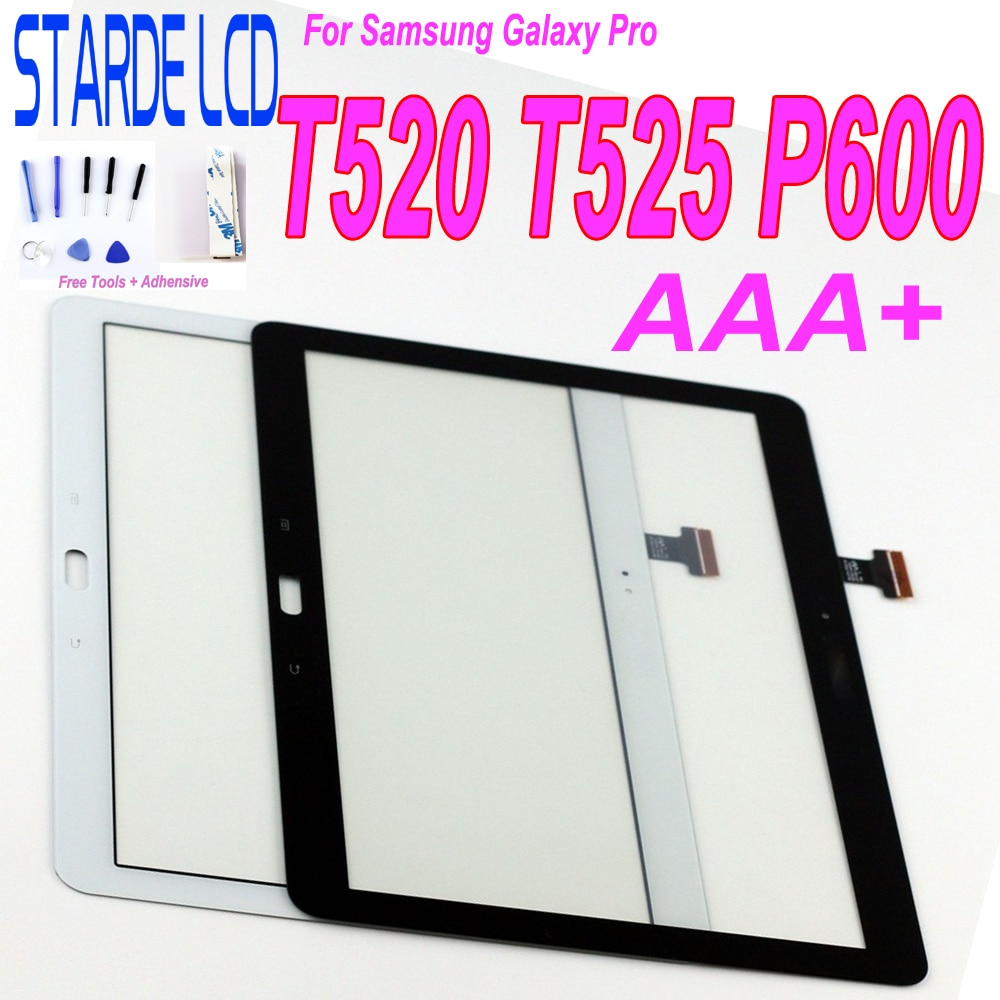 Сенсорный экран для Samsung Galaxy Pro T520 SM-T520 T525 SM-T525 P600, сенсорный экран, дигитайзер, сенсорная панель, Сменный стеклянный планшет