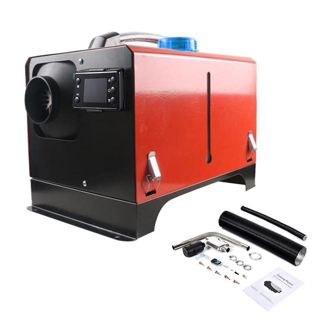 12V/24V Auxiliary Heater 5KW 8KW Car Diesels Air Parking Heater Compact Air Parking Heater Kit Boats Home Autonomous Heater