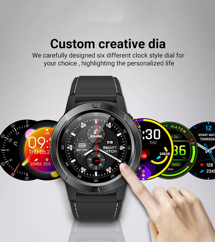 NORTH EDGE smart watch GPS Bluetooth compatible men's and women's IP67 waterproof heart rate blood pressure monitor sports watch