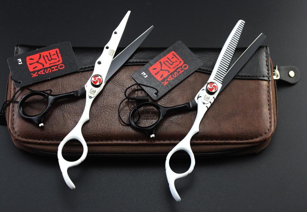 Ножницы для волос профессиональные 6 дюймов Парикмахерские ножницы парикмахерские ножницы прямые филировочные ножницы для стрижки волос