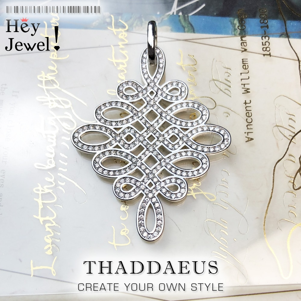 AliExpress - Pendant Love Knot,2019 Brand New Fashion Endless Jewelry Europe Bijoux 925 Sterling Silver Accessories Gift For  Soul Woman