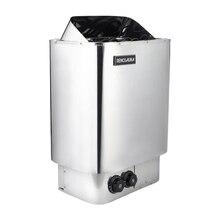 Livraison gratuite 9KW 380V 50/60HZ en acier inoxydable sauna ont une grande capacité de roche électrique puissant intégré contrôle chauffage
