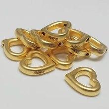 Gouden Sieraden Meisje Hart 3D Harde Gouden Hart Kralen Geluk Liefde 999 Gouden Hanger Met 18K Goud Flash O keten