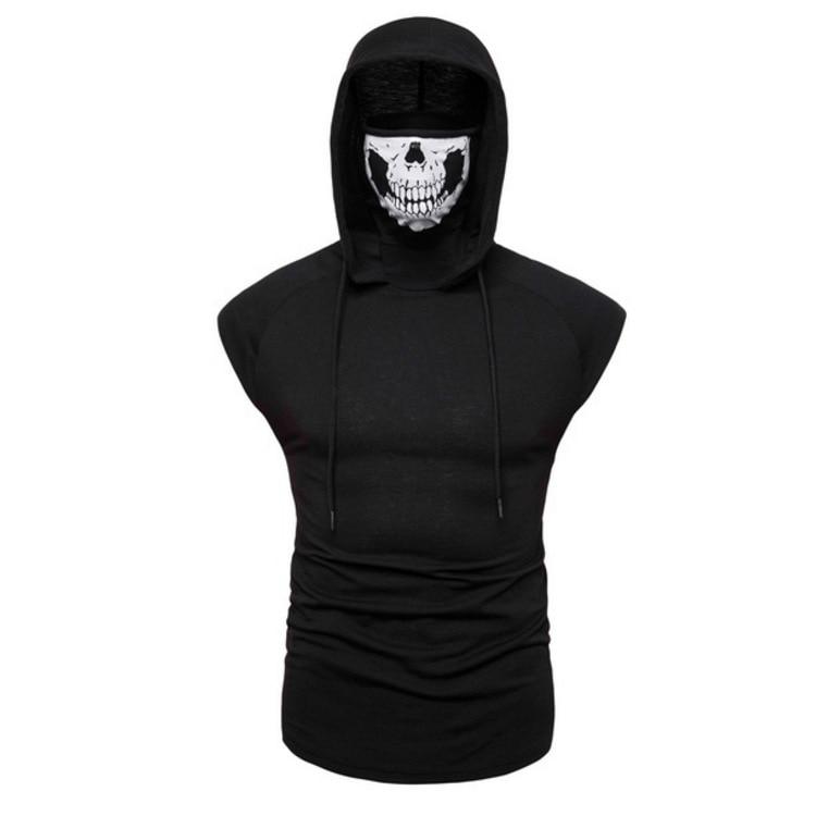 Nueva Sudadera con capucha de Fitness para hombre, uniforme Ninja superelástico con...