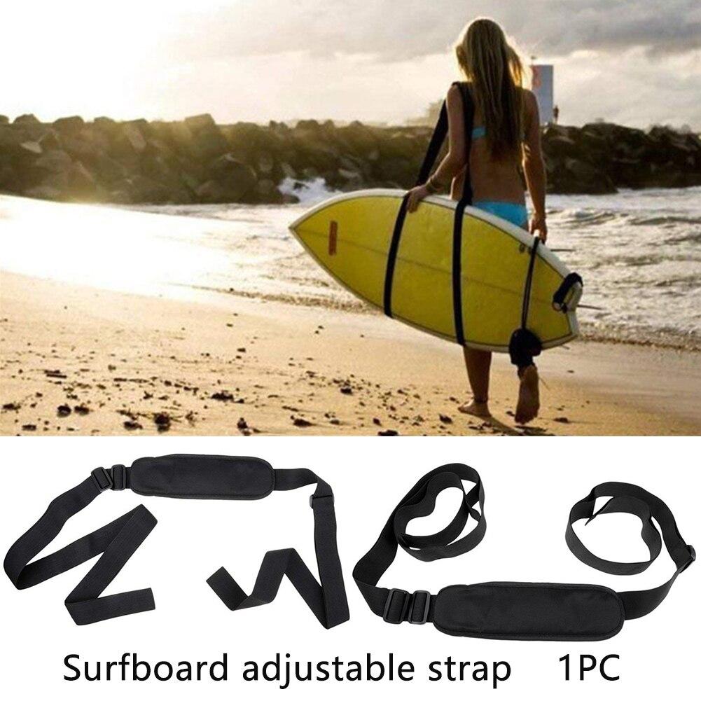 Correa de transporte para tabla de surf portátil, correa de hombro para Kayak y canoa, correa de almacenamiento ajustable, correa de transporte de nailon