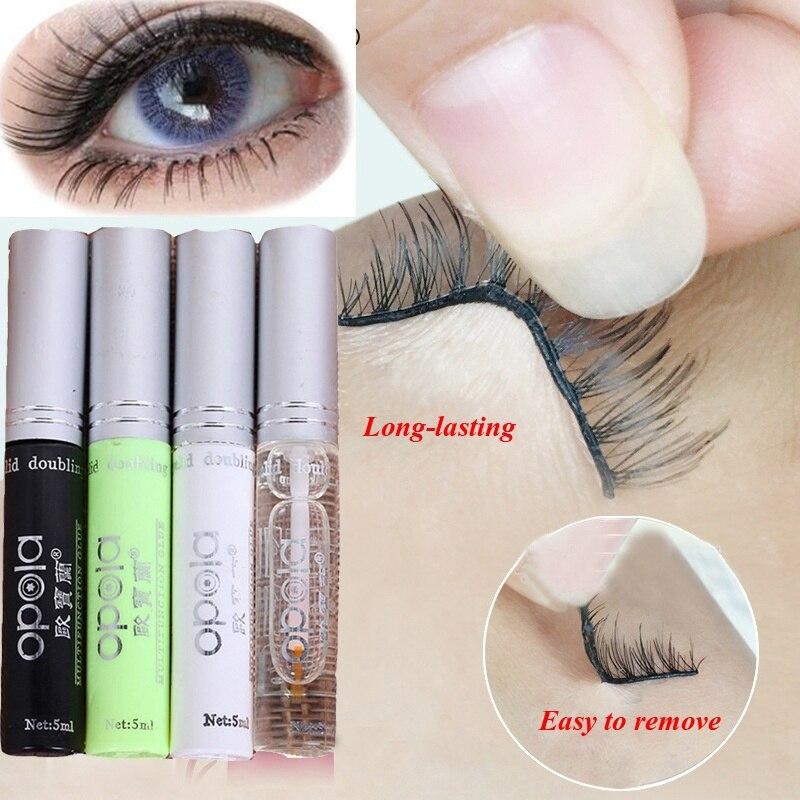 NEW  Professional Quick Dry Eyelashes Glue False Eyelash Extension Beauty Makeup Adhesive Double Eye