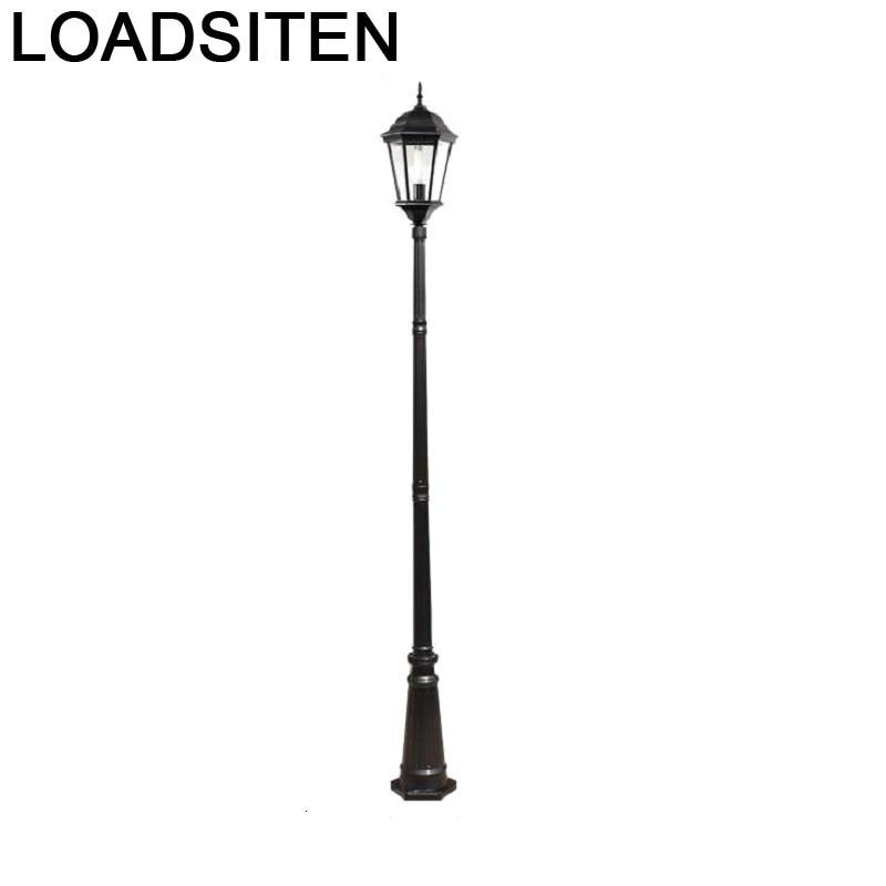 Lampione Giardino Lampioni Da Esterno Iluminador Jardin Luminaire Exterieur Plaza Lamp Uliczna Led Off Street Road Light