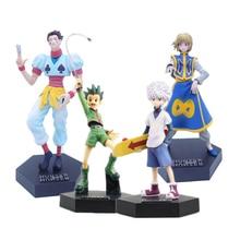 20cm chasseur chasseur Gon Freecss Kurapika Hisoka Killua Zoldyck Anime PVC figurines jouets figure danime jouets pour enfants cadeaux