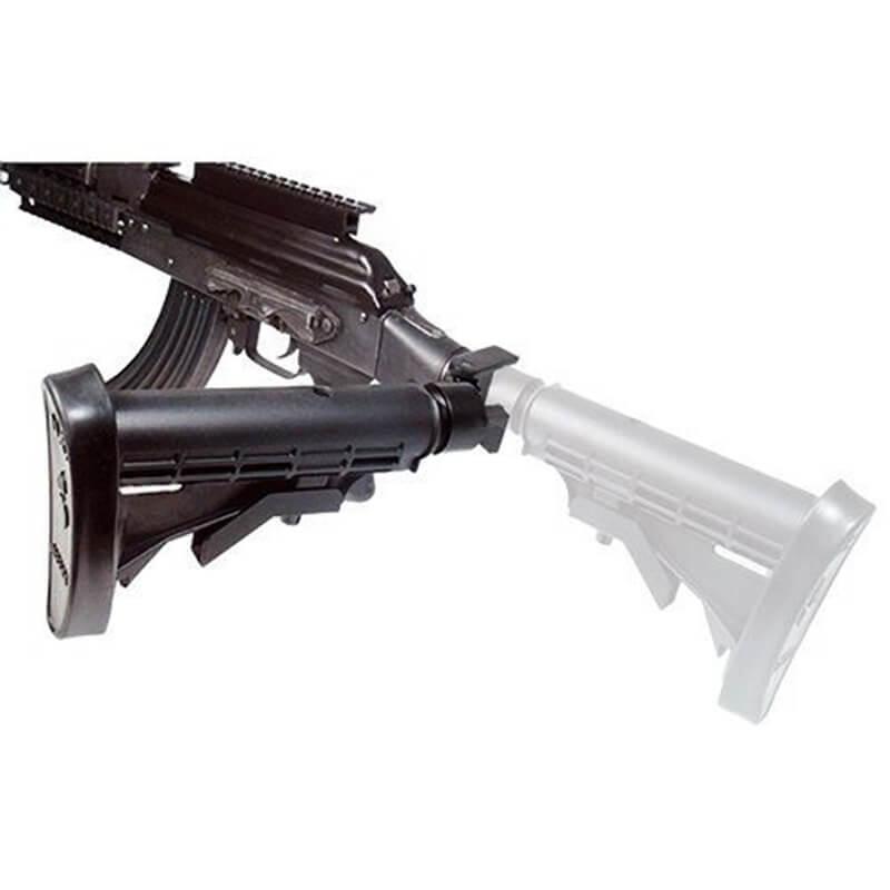 Ak dobrável butt estoque adaptador kits de montagem de metal apto para ar15 m4 a2 aks 1 3/16-16 caça tiro acessórios